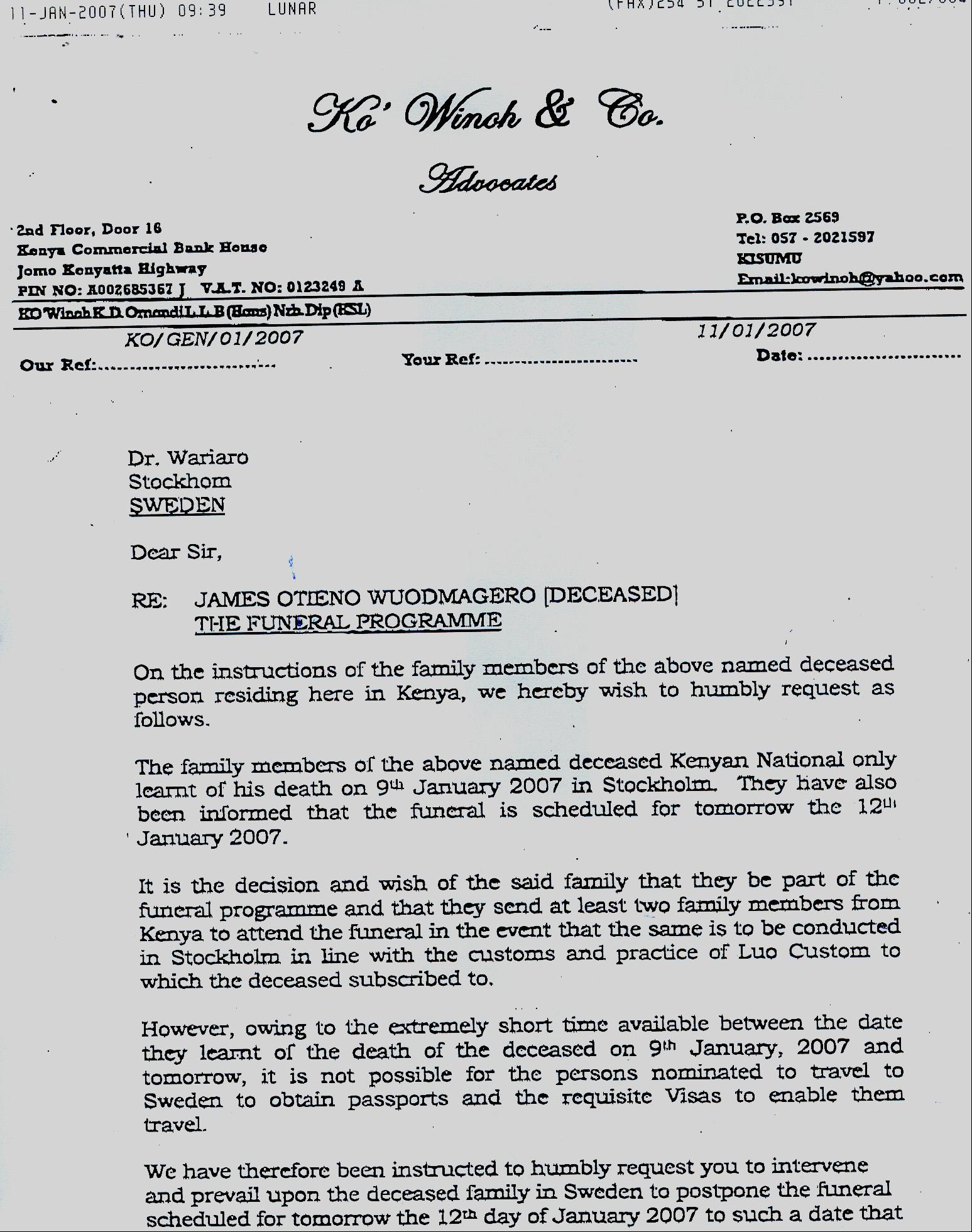 Maggero funeral family sends affidavit seeking to delay process maggero1 stopboris Choice Image