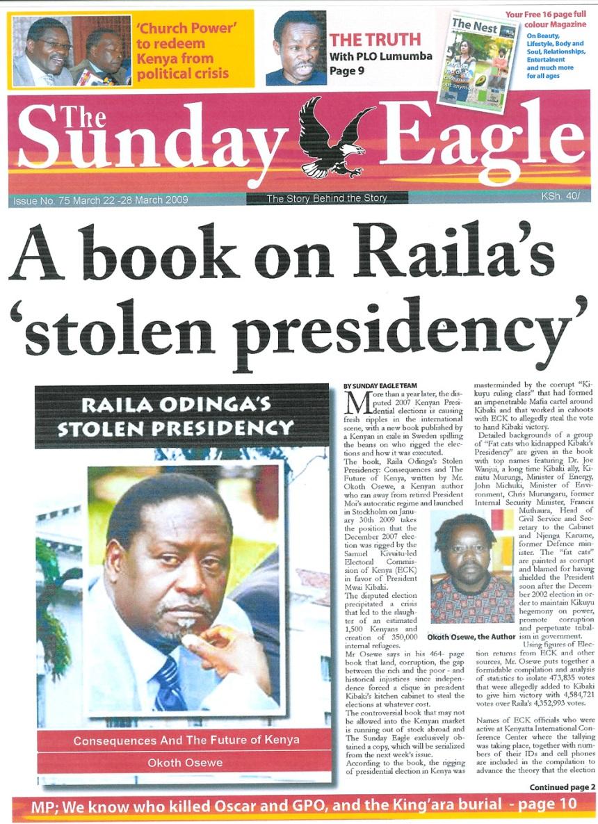 A book on Raila...