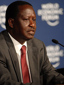 Raila Odinga: Made election pledge.