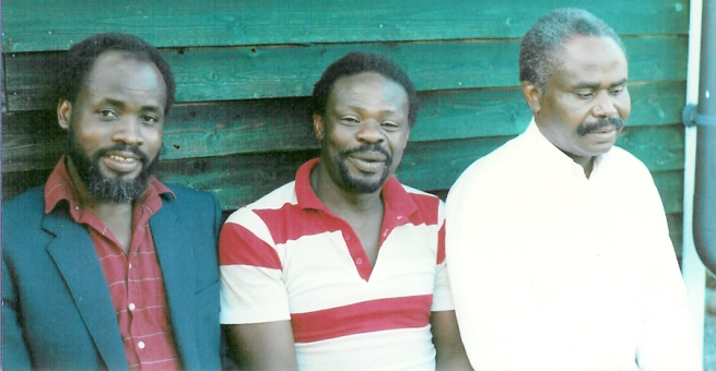 L-R: Late Onyango Sumba, Adiwa Senior and the late Mr. Opwapo