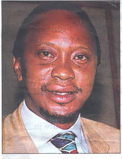 Challenging Uhuru Kenyatta as