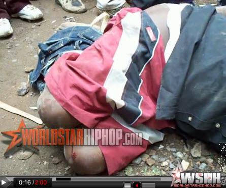 Shocking Video of Potato Thieves Burnt Alive in Kenya   Kenya