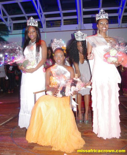 miss africa crown
