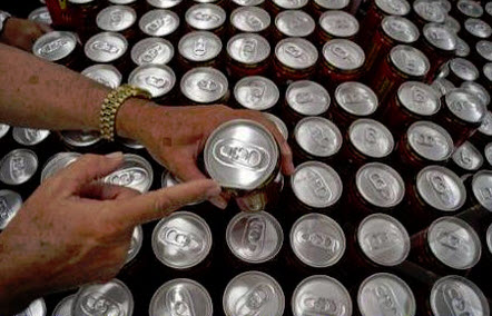 Cans can be deadly if not cleaned. They are stored in a warehouse and where rats could urinate deadly virus-infected urine on them.