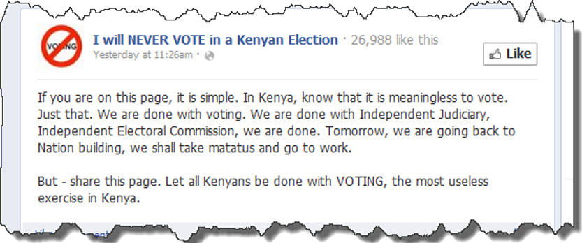 done with voting in kenya