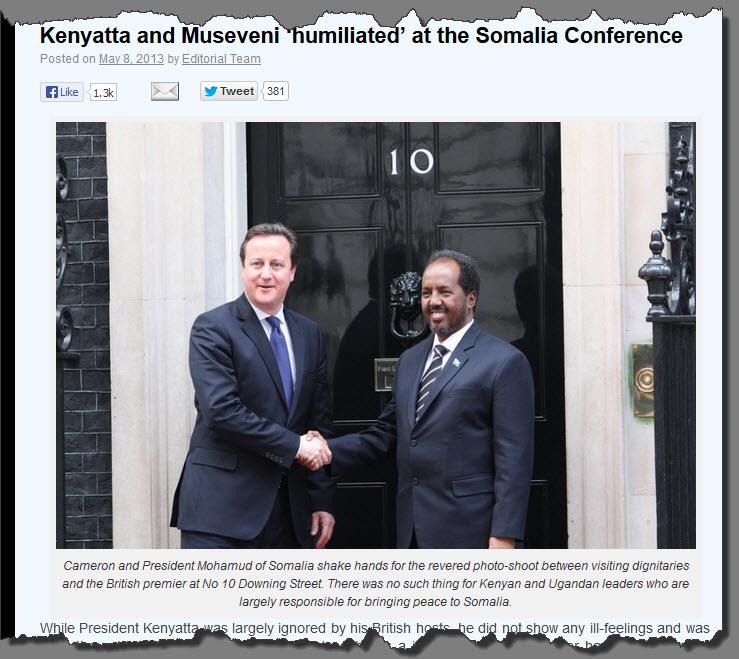 CAMERON SOMALI PRESIDENT
