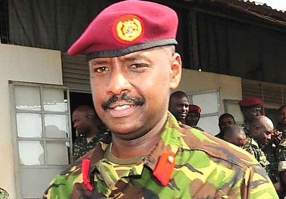 Brigadier Muhoozi Kainerugaba
