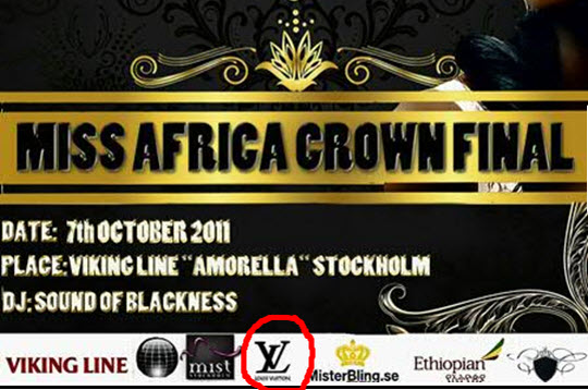 Among the sponsors listed, only Ethiopian Airlines linked to MAC by a Board member was genuine
