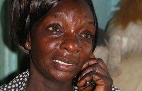 Atieno's mother Scolastica Adhiambo