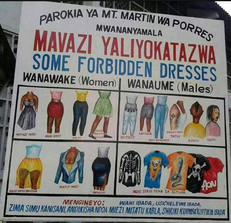 banned in tanzania