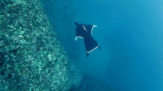 Human Uboat deep under Stockholm's Waters
