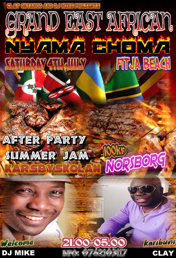 east african party summer jam