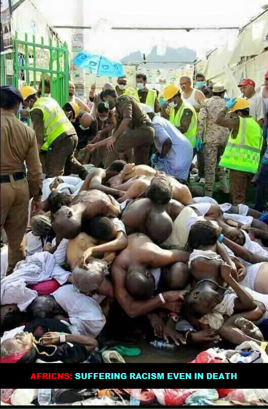 AA AFRICANS IN MECCA