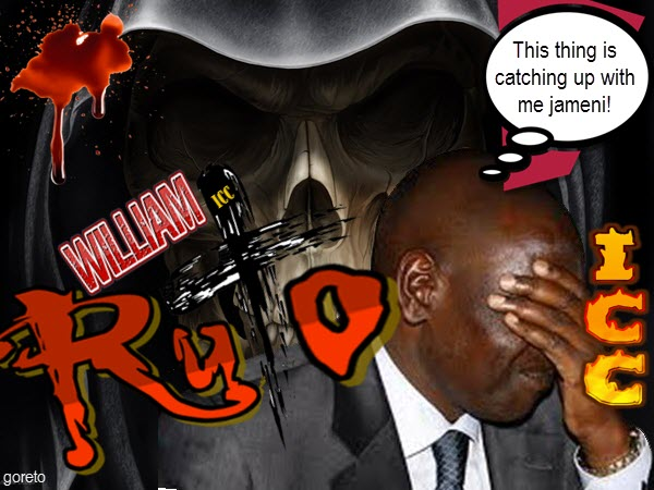 William Ruto should carry his own cross at the ICC because Kenya is not on trial