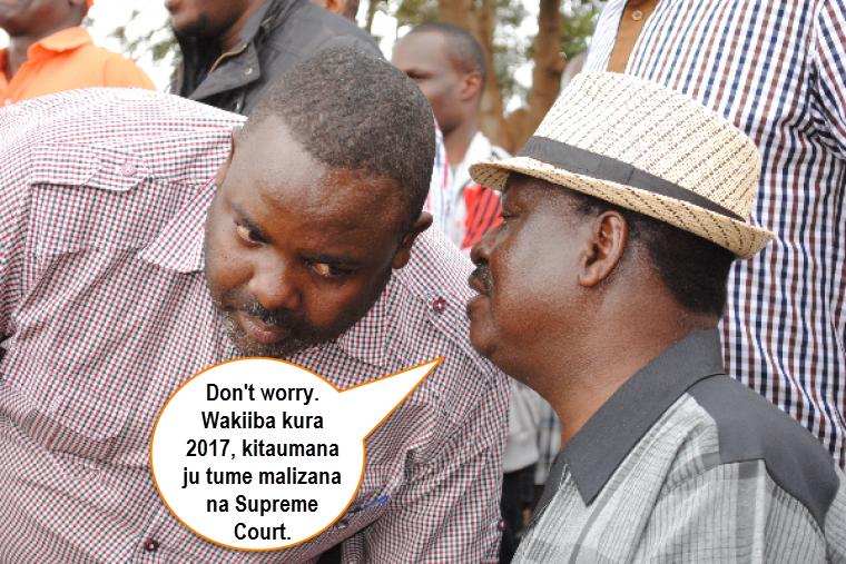RAILA AND ALADWA