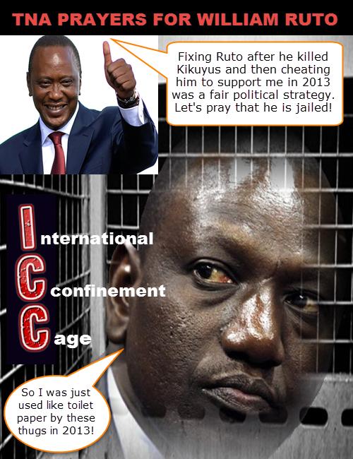 uhuru fixed ruto