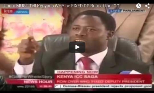 who fixed ruto