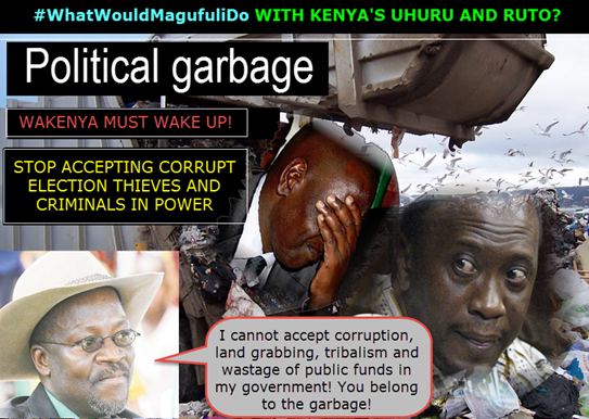 whatwouldmagugulido with uhuru and ruto