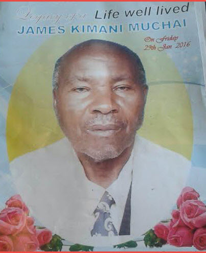 mzee kimani