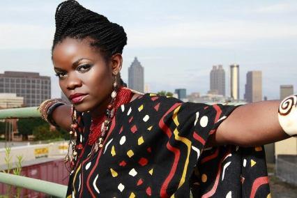 Kenyan singer Mercy Myra