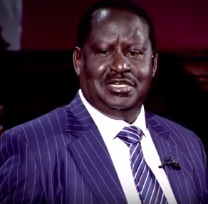 RAILA ODINGA ON AL JAZEERA
