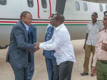 ruto in mandera