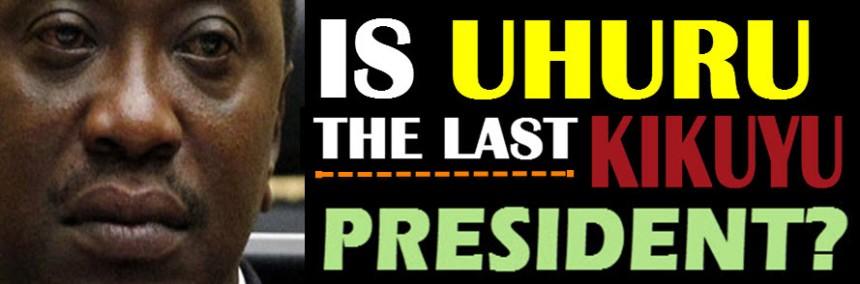 is uhuru kenyatta last kikuyu president