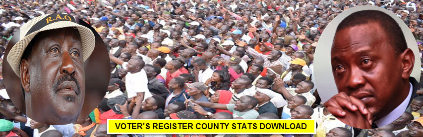 VOTERS REGISTER DOWNLOAD COUNTY STATS