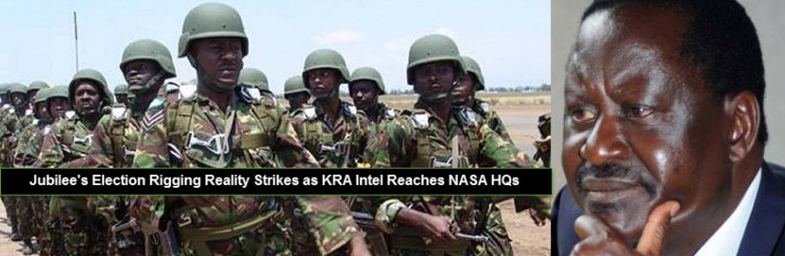 Jubilee Election Rigging Reality Strikes as KRA Intel Reaches NASA HQs